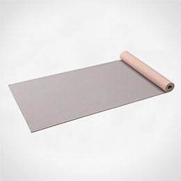 2 tones different fabric textures yoga mat